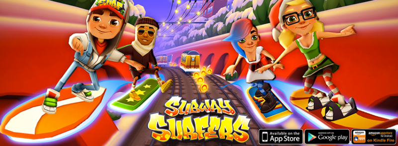 العاب subway surfers 2014