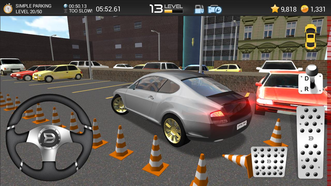 Car Parking Games Online Play